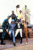 Les Village People in London on August 1St, 1980 Photo
