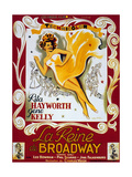 Cover Girl (La Reine De Broadway) De Charlesvidor Avec Rita Hayworth, Lee Bowman, 1944 Prints