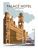 Manchester Palace Hotel - Dave Thompson Contemporary Travel Print Posters by Dave Thompson