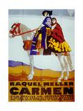 Carmen De Jacquesfeyder Avec Raquel Meller 1926 Prints
