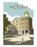 Manchester Victoria - Dave Thompson Contemporary Travel Print Posters by Dave Thompson