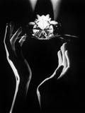 The Famous Diamond Louis Cartier Assured for $5 Million, New York, December 14, 1976 Photo