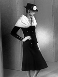 Chanel Fashion : Autumn-Winter 1983 : Model Ines De La Fressange Photo