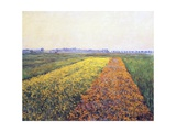 Landscape, 1848 Premium Giclee Print by Gustave Caillebotte