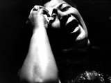 Ella Fitzgerald (1917-1996) American Jazz Singer C. 1960 Photo