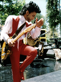 American Singer Prince (Prince Rogers Nelson) in the 80'S Photographie