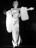 "Marilyn Monroe at Premiere of Film ""Call Me Madam"" on March 4, 1953 Photo"
