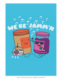 We Be Jammin - David & Goliath Print Posters by  David & Goliath