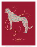 Cheetah - WWF Contemporary Animals and Wildlife Print Art by  WWF