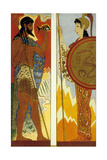 The Odyssey by Homere : the Gods Poseidon and Athena, 1930-1933 Prints