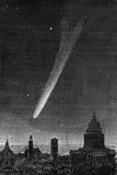 The Great Comet Seen in Paris October 17, 1882 Photo