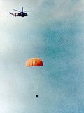 Gemini 11 (12-15 September 1966) : Spacecraft Coming Back on Earth Is Going to Land on Water Print