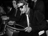 French Singer Jacques Dutronc in Miniland, Paris, 17 March 1967 Photo