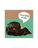 Otter - Abigail Gartland Art Print Poster by Abigail Gartland