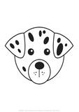Dog - Animaru Cartoon Animal Print Giclee Print by  Animaru