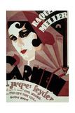 Carmen De Jacquesfeyder Avec Raquel Meller 1926 Posters