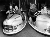Brown Bear of Bertram Mills Circus in Bumper Cars Dodgems December 15, 1954 Photo