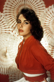 Elizabeth Taylor (Born Elizabeth Rosemond Taylor, 1932 - 2011), British-Born American Actress Photo