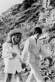 Singers Mick Jagger and Marianne Faithfull in San Remo January 29, 1967 Photo