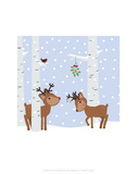 Reindee Love - Wink Designs Contemporary Print Prints by Michelle Lancaster