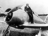 Jacqueline Cochran Was an American Woman Pilot with the US Entry into the War Photo