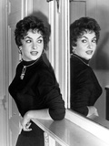 Actress Gina Lollobrigida October 31, 1955 Photo