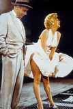 The Seven Year Itch by Billy Wilder with Tom Ewell, Marilyn Monroe, 1955 Photo