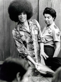 Angela Davis (B1944) American Black Activist, Here in 1972 During Her Trial Photo
