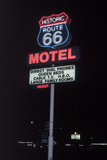 Route 66 Which Cross United States from Los Angeles to Chicago, Photo Taken in 2005 Posters