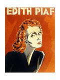 Edith Piaf (1915-1963) French Singer, C. 1930 Kunstdruck