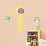 Owl Tree Star Wall Decal