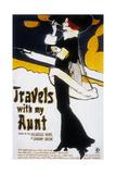 Voyages Avec Ma Tante Travels with My Aunt De George Cukor Avec Maggie Smith, 1972 Art