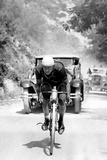 Tour De France 1929, 13th Leg Cannes/Nice on July 16 : Benoit Faure on the Braus Pass Photographie