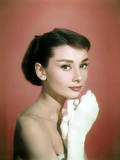 Portrait of the American Actress Audrey Hepburn, Photo for Promotion of Film Sabrina, 1954 Photo