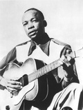 John Lee Hooker (1917-2001) American Blues Guitarist Here in 1947 Photo