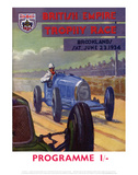British Empire Trophy Race - Silverstone Vintage Print Poster by Silverstone