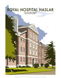 Royal Hospital Haslar - Dave Thompson Contemporary Travel Print Poster by Dave Thompson