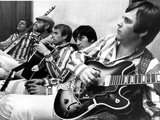 The Beach Boys (Dennis Wilson, Dave Marks, Carl Wilson, Brian Wilson and Mike Love) July 11, 1966 Photo