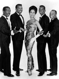 The Platters Groupe De Musiciens Rythm and Blues Chanteurs Noirs Photo