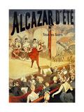 Cabaret Alcazar D Ete Au Champs Elysees Prints