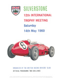 12th International Trophy Meeting - Silverstone Vintage Print Posters by Silverstone