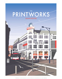 Manchester Printworks - Dave Thompson Contemporary Travel Print Prints by Dave Thompson