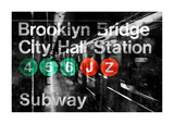 NYC Subway Station I Giclee Print by Luke Wilson