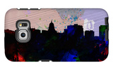 Madison City Skyline Galaxy S6 Edge Case by  NaxArt