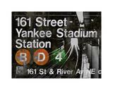 NYC Subway Station II Giclee Print by Luke Wilson