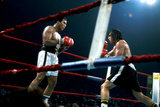 Ing Game Between Mohammed Ali and Alfredo Evanglista in Washington May 16, 1977 Photographie