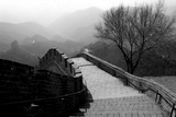 The Great Wall of China, Photo Taken on February 2001 Foto