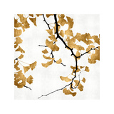 Ginko in Gold II Giclee Print by Kate Bennett