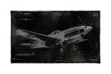 Vintage War Plane Giclee Print by Dylan Matthews