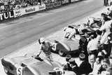 Start of the Le Mans 24 Hours, France, 1959 Photo